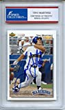 Tino Martinez Signed Encapsulated Tradng Card #3145973 - Seattle Mariners - Certified Authentic