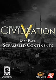 "Sid Meier's Civilization V Map Pack: ""Scrambled Continents"" [Download]"