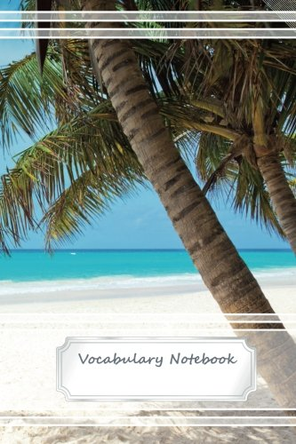 Vocabulary Notebook - 2 Columns - 100 lined pages - 6