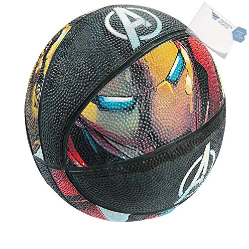 Bargain World Iatable Avengers Basketball (With Sticky Notes)