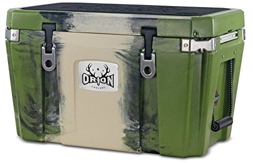 Orion Heavy Duty Premium Cooler (55 Quart, Forest), Durable Insulated Ice Chest for Maximum Cold Retention - Portable, Bear Resistant, and Long Lasting, Great for Hunting, Fishing, Camping