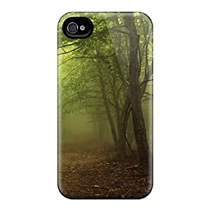 VBq45300tIiF Dark Foggy Forest Fashion 6 Cases Covers For Iphone