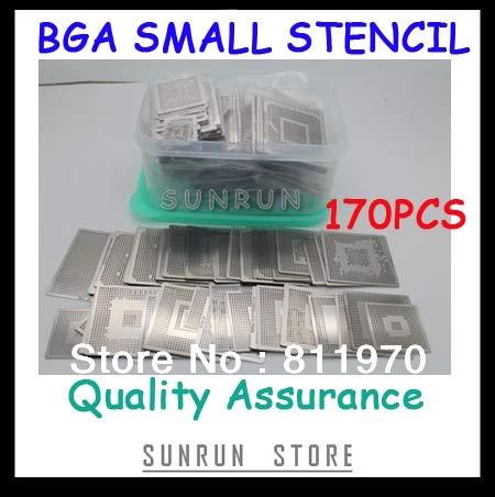 - Jammas,New Direct Heating BGA Stencils Set Notebook Dedicated 170 pcs BGA Stencil BGA Reballing Stencil Kit