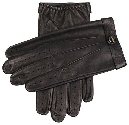 Dents Mens Fleming James Bond Spectre Driving Gloves - Black - Medium