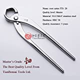 Root Cutter Concave Cutter Branch Cutter Tian Bonsai Tools Master Quality Stainless Steel 215 Mm (8.5'')