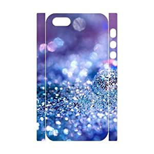Silver Bling Customized 3D Cover Case for Iphone 5,5S,custom phone case ygtg593387 by ruishername