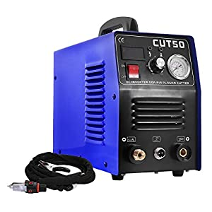 VEVOR Plasma Cutter 50A 110V Tig Stick Welder CUT50 Inverter Digital Welding Machine (50A Plasma Cutter) from VEVOR