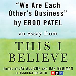 We Are Each Other's Business Audiobook