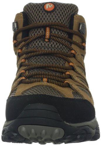 Merrell MOAB MID WATERPROOF J88623 - Zapatillas de senderismo para hombre Earth