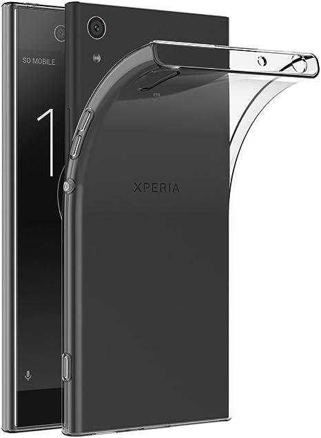 AICEK Funda Sony Xperia XA1, Transparente Silicona Fundas para Xperia XA1 Carcasa XA1 (5,0 Pulgadas) Silicona Funda Case: Amazon.es: Electrónica