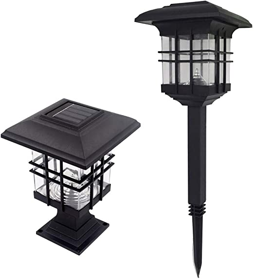 Liquidación! WATOPI - Lámpara solar para jardín, luz solar, estaca, estaca impermeable, iluminación de caminos para exteriores, para villas, césped, caminos, luz cálida/luz blanca: Amazon.es: Iluminación