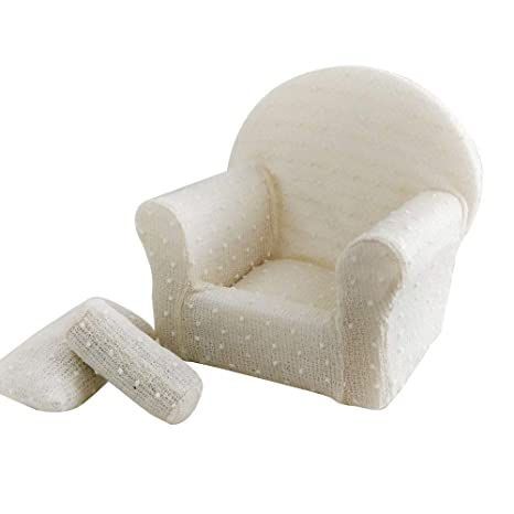 Amazon.com: Accesorios para fotografía de bebé, sofá pequeño ...