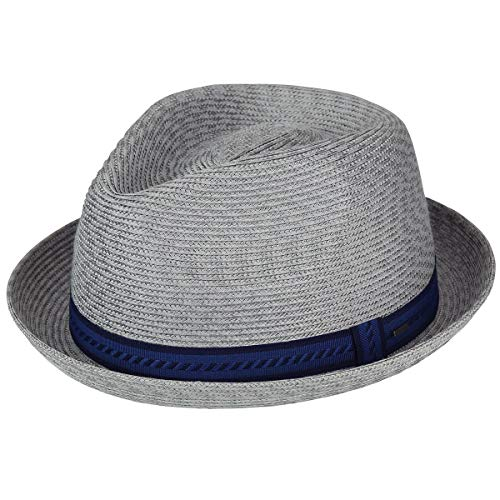 Paper Fedora Hat (Bailey of Hollywood Men's Mannes Braided Fedora Trilby Hat, Cement Multi,)