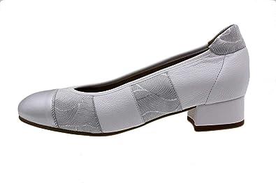 190534 Piesanto Zapato Cómodo Metal Mujer Bailarina Plata
