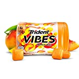 Trident Vibes Tropical Beat Sugar Free Chewing Gum - 4 Bottles (160 Pieces Total)
