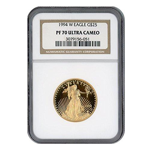 1994 W 1/2oz Proof Gold Eagle G$25 PF70UCAM NGC ()