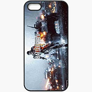 Personalized iPhone 5 5S Cell phone Case/Cover Skin Battlefield 4 Black
