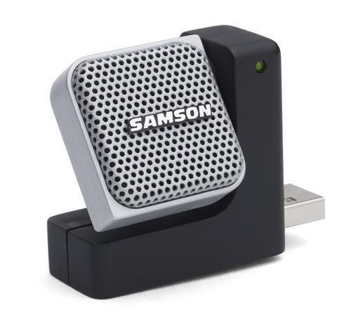 Samson Go Mic Direct - Portable USB Microphone with Noise Ca