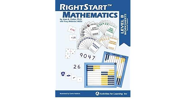 Amazon RightStart Mathematics Level B Worksheets Industrial Scientific