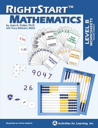 RightStart Mathematics Level B Worksheets