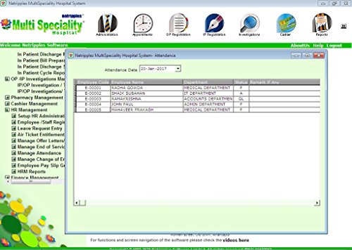 Amazon.com: Multispeciality Hospital software System ...