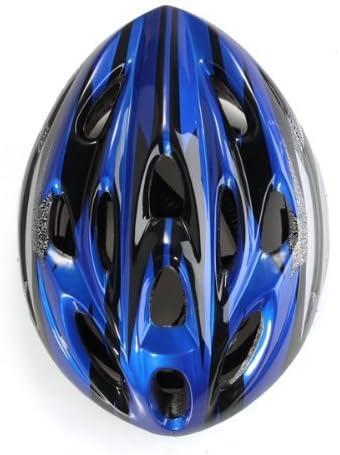 Casco Visera Protección Ciclismo Para Bicicleta Bici Talla L Azul Negro: Amazon.es: Deportes y aire libre