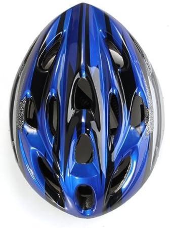 Casco Visera Protección Ciclismo Para Bicicleta Bici Talla L Azul ...