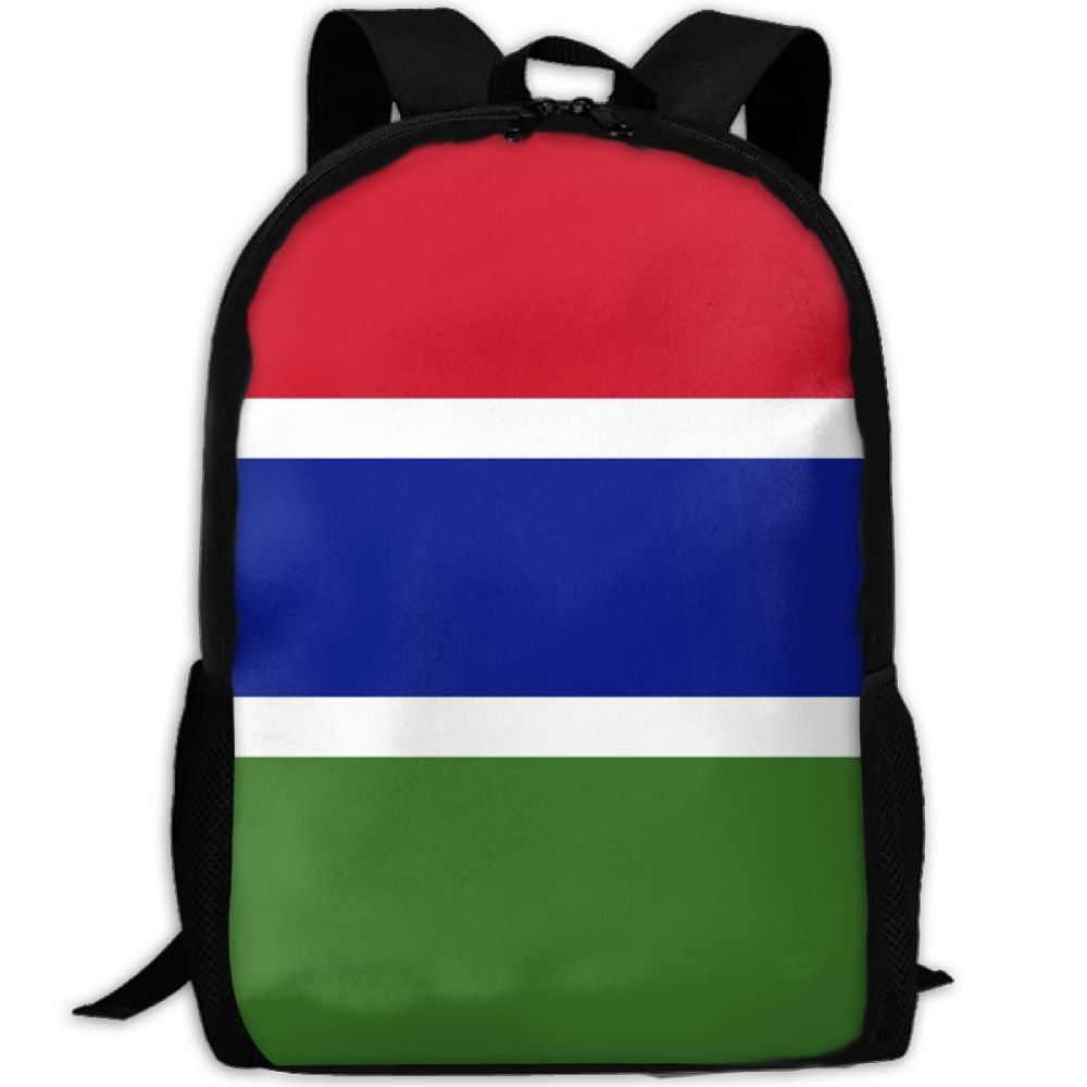 52ce09d75e44 Kuswaq Flag Of The Gambia Unisex Stylish Laptop Bag Daypack Travel ...