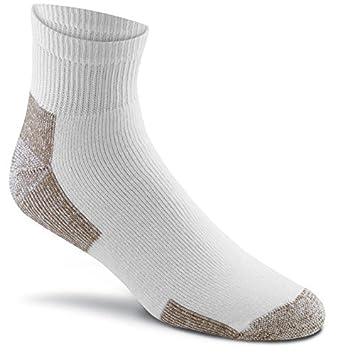 3 Pair Fox River Cotton Work Quarter Crew Cut Socks Value Pack