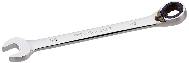 Powerbuilt 641761 Ratcheting Double Box-End E-Star Wrench - E14/E18