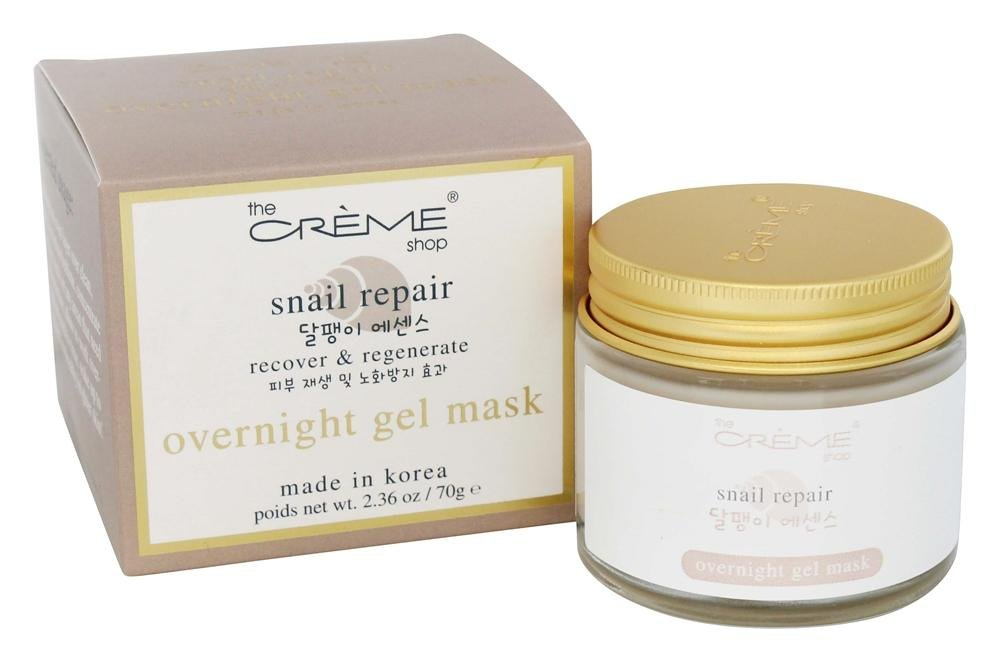 The Creme Shop - Snail Repair Overnight Gel Mask - 2.36 oz.