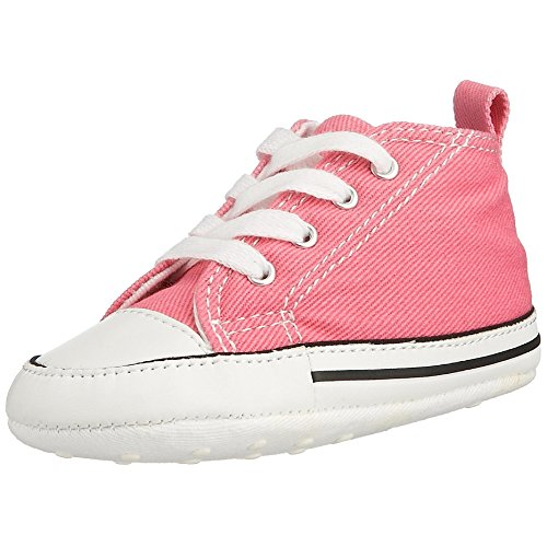 Converse Baby First Star High Top Sneaker Pink 3 M US Infant