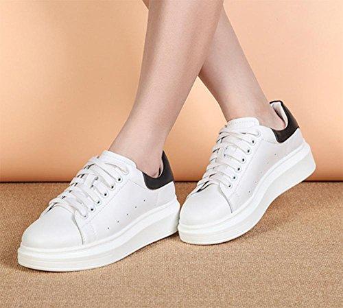 chaussures fond femmes CN37 sport et Trifle étudiants US6 chaussures 5 chaussures chaussures 5 UK4 épais 7 5 casual à d'automne EU37 chaussures de célibataires printemps EEfqO
