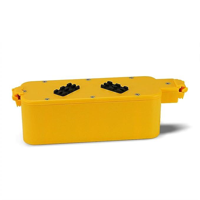 POWERAXIS 14.4V 3300mAh Ni-MH Aspiradora Bateria batería para iRobot Roomba 400 Series 400 405 410 415 416 418 4000 4100 4105 4110 4130 4150 4170 4220 4225 ...