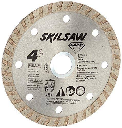 SKIL 79504C 4-Inch Turbo Rim Diamond Grinding Wheel