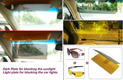 Hot Sales!!! Belle® Car Day&Night Anti-Glare Visor - Stop The Glare Of The Headlights Or Sun PackageQuantity: 1 Model: Car/Vehicle Accessories/Parts