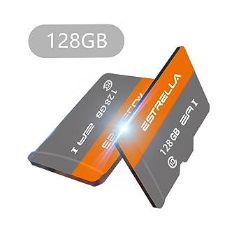 Tarjeta Micro SD, Yapeach 8 GB/16 GB/32 GB/64 GB/128 GB Tarjeta de Memoria Flash, Clase 10 TF Tarjeta para teléfonos PC Drone cámara Coche VCR ...