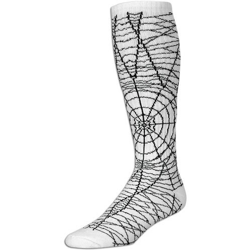 Red Lion Women's Spider Sock ( sz. One Size Fits All, White/Black )