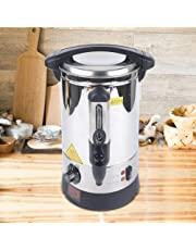 5L warmwaterdispenser waterkoker glühweinkoker, inmaakautomaat van roestvrij staal met waterschaal, geschikt voor likeur koffie thee
