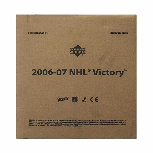 2006-07 Upper Deck Victory Hockey Hobby 20-Box (Victory Hockey Hobby Box)