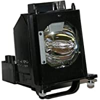 Mitsubishi Replacement Lamp with Housing and Original Philips Bulb for WD-60735; WD-60737; WD-6
