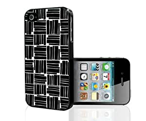 Black and White Pattern Hard Snap on Phone Case (iPhone 5/5s)