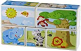 HABA Zoo Animals Picture Cubes Puzzle