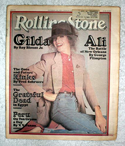 Gilda Radner - Saturday Night Live - Rolling Stone Magazine - #277 - November 2, 1978 - Muhammad Ali, The Kinks, Peru (Cocaine) Articles ()