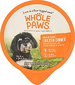 Whole Paws, Chicken Dinner, Dog Food (Grain Free), 3.5 oz