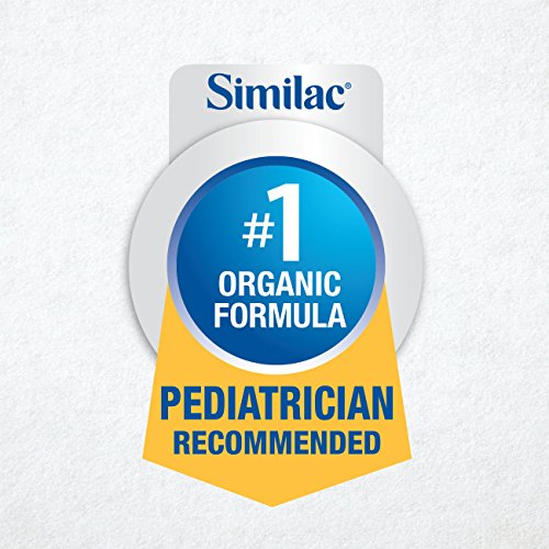 Similac Organic Non-GMO Infant Formula, Powder, Baby Formula, 23.2 ounces, 6 Count, (1-Month Supply) by Similac (Image #4)