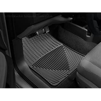 WeatherTech   W147   2009 2011 Honda Fit Black All Weather Floor Mats 1st  Row