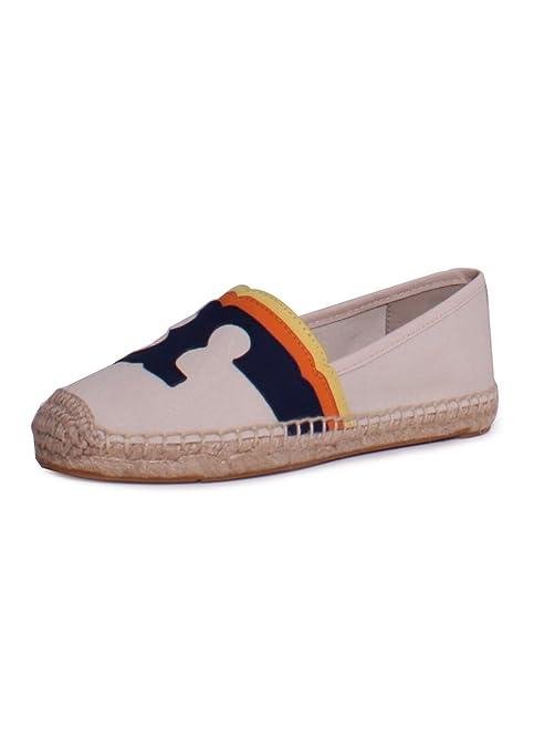 c1d5c615f Tory Burch Laguna Flat Espadrille Natural Multicolour 10: Amazon.ca: Shoes  & Handbags