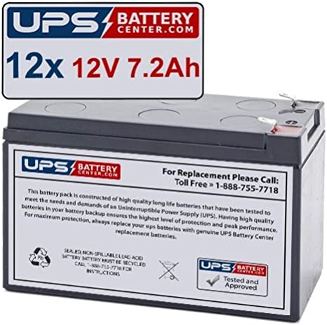 Rechargeable, high Rate MGE 600 AVR Replacement Battery