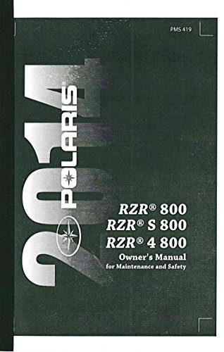 polaris ranger owners manual - 3